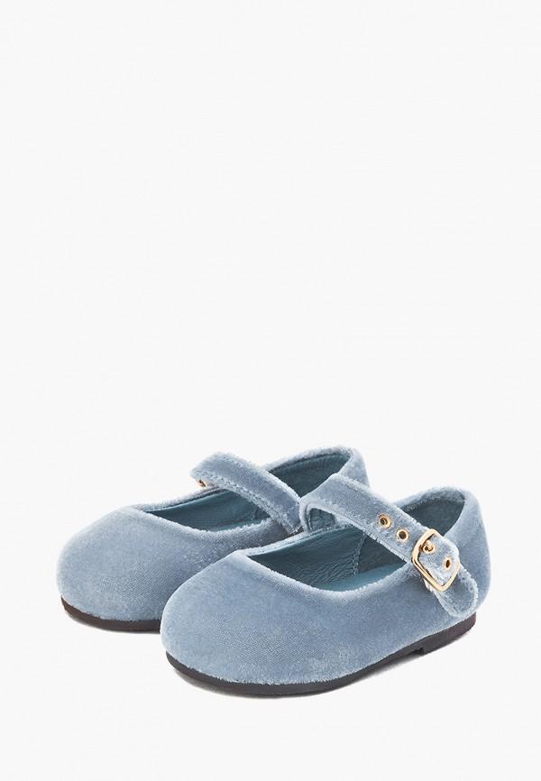 Туфли для девочки Age of Innocence цвет голубой  Фото 2