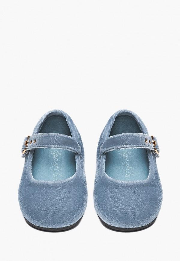 Туфли для девочки Age of Innocence цвет голубой  Фото 3