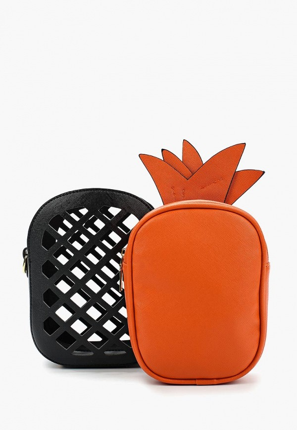 сумка vitacci для девочки, оранжевая