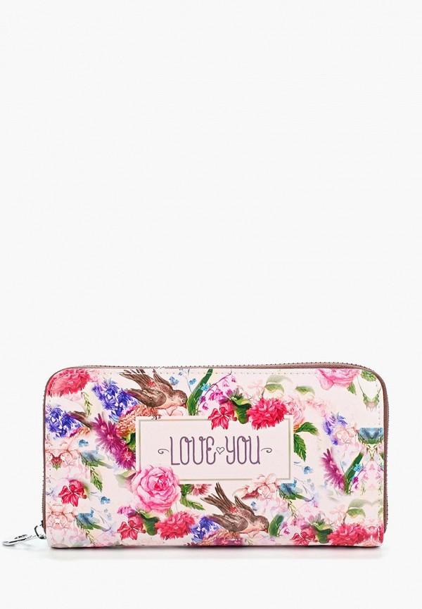 кошелёк vitacci для девочки, розовый