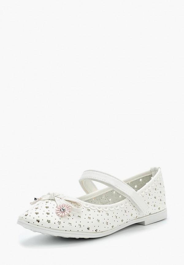 Туфли для девочки Vitacci цвет белый
