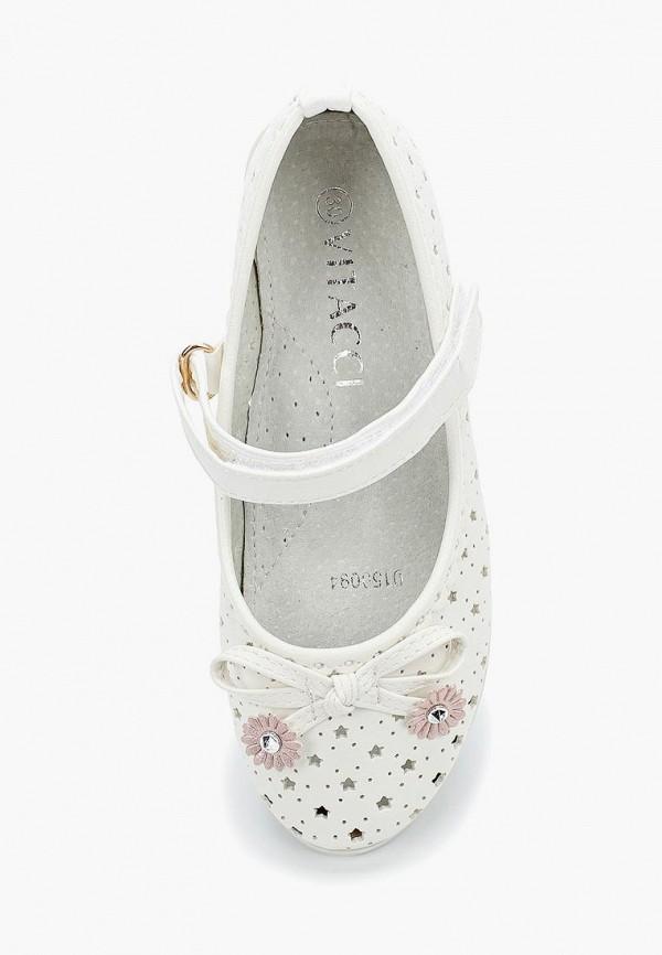 Туфли для девочки Vitacci цвет белый  Фото 4