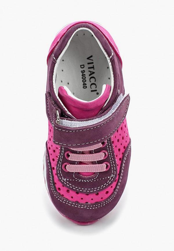 Кроссовки для девочки Vitacci цвет розовый  Фото 4