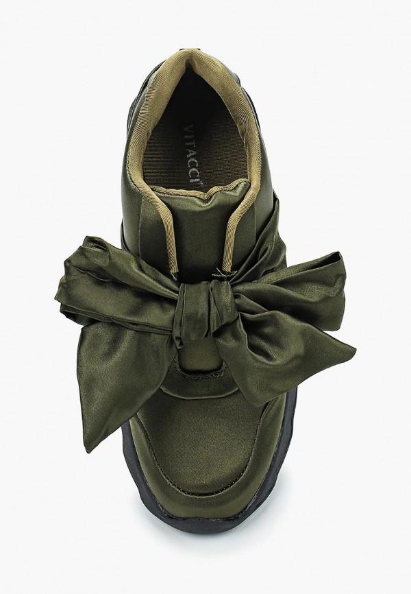 Кроссовки для девочки Vitacci цвет зеленый  Фото 4