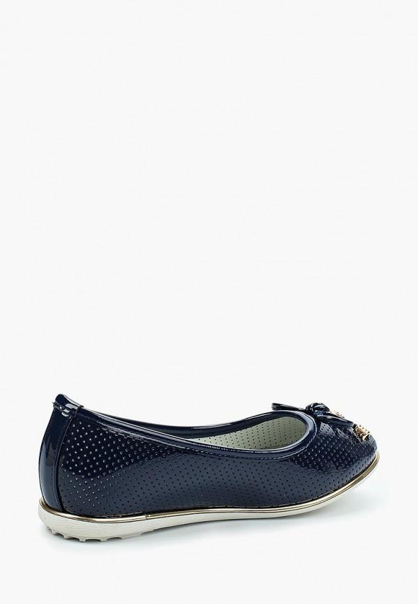 Балетки для девочки T.Taccardi цвет синий  Фото 2