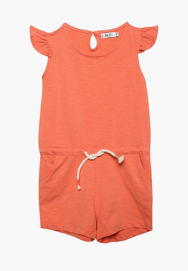 Детский комбинезон Incity цвет оранжевый