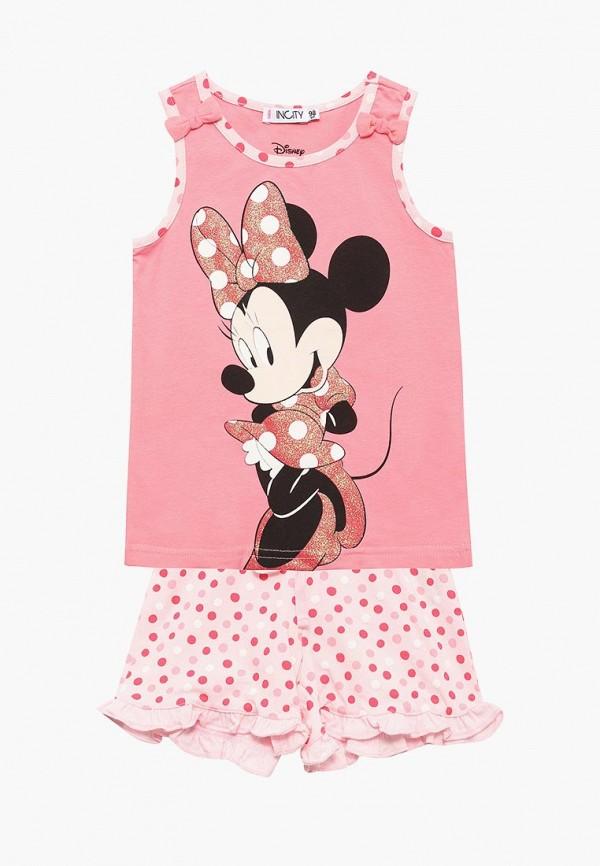 Пижама для девочки Incity цвет розовый