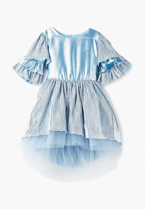 платье shened для девочки, голубое