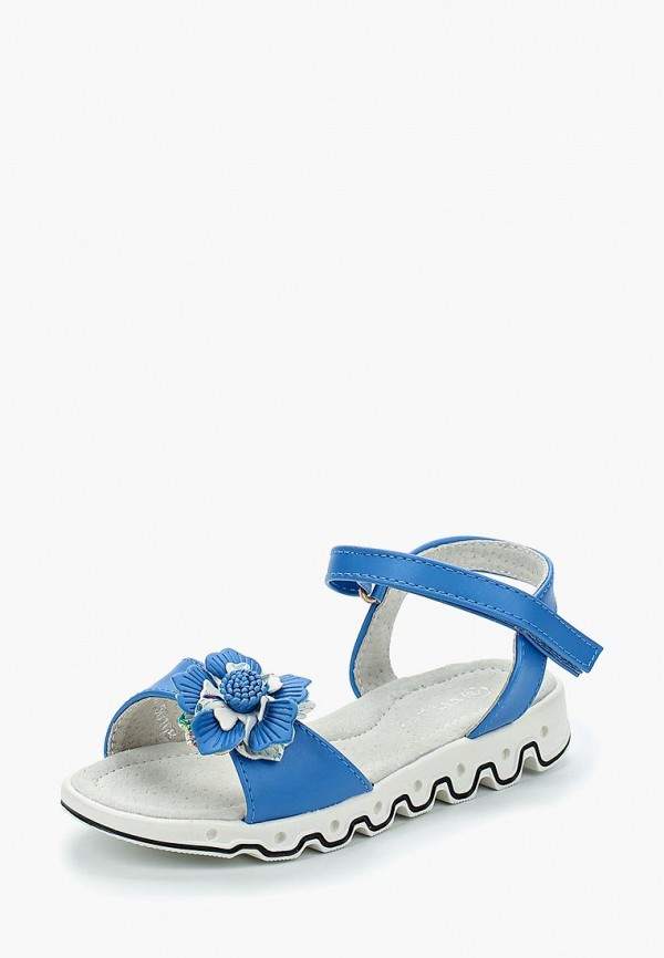 сандалии vitacci для девочки, голубые