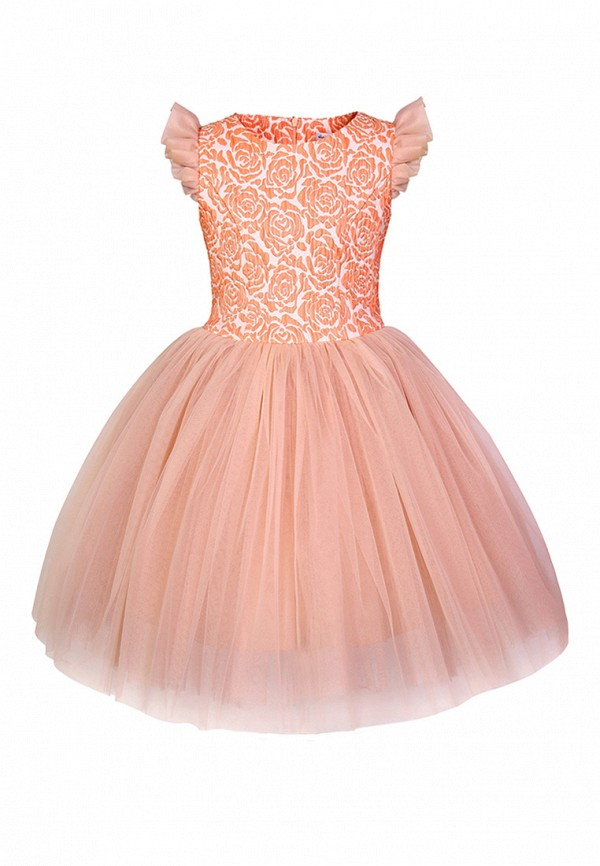 Купить Платье Alisia Fiori, mp002xg009dm, коралловый, Весна-лето 2018