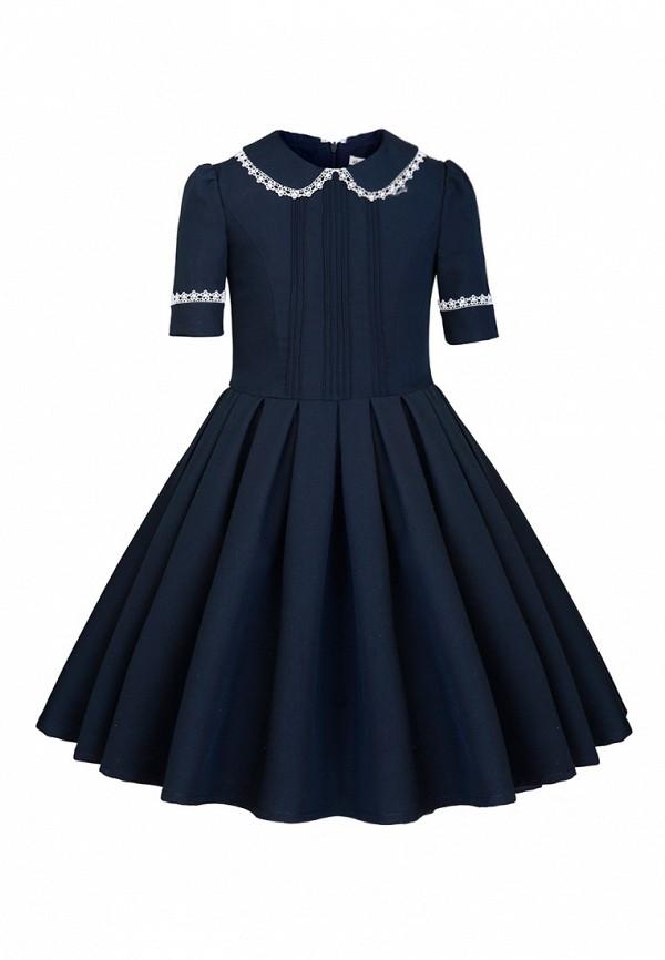 повседневные платье alisia fiori для девочки, синее