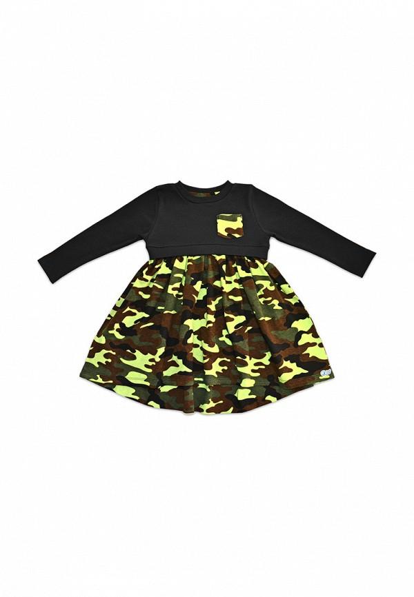 повседневные платье кит для девочки, хаки