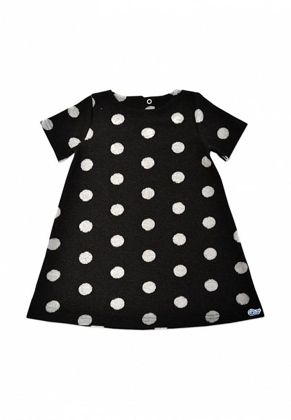 повседневные платье кит для девочки, черное