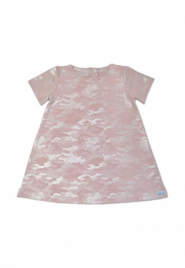 повседневные платье кит для девочки, розовое
