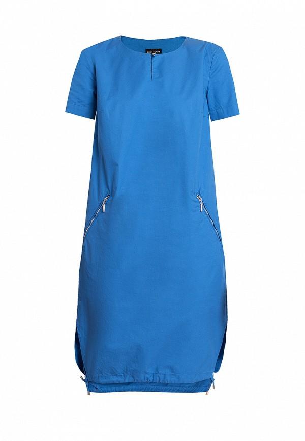 повседневные платье finn flare для девочки, синее