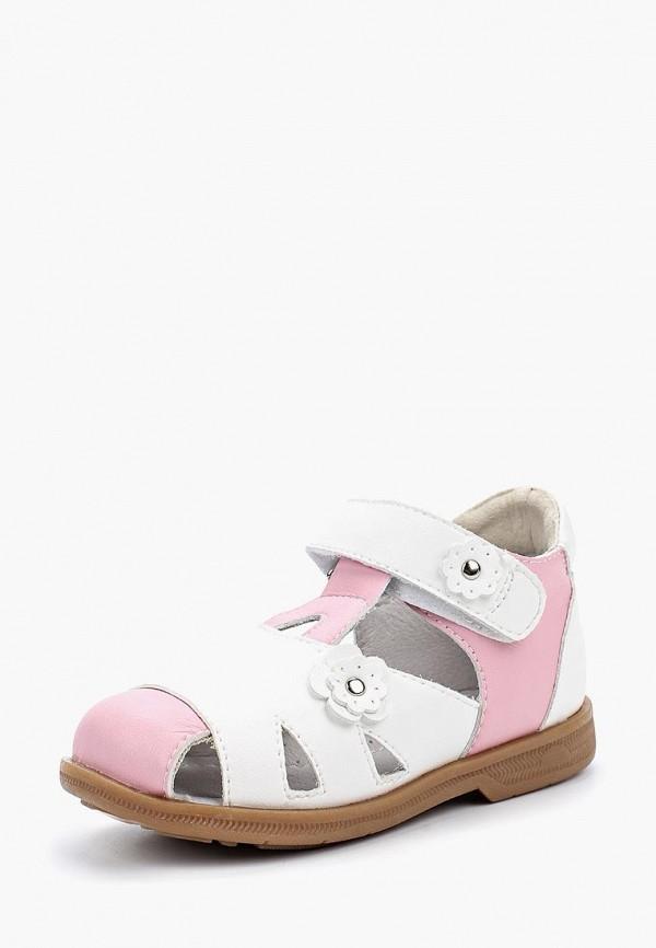 сандалии ortmann для девочки, разноцветные