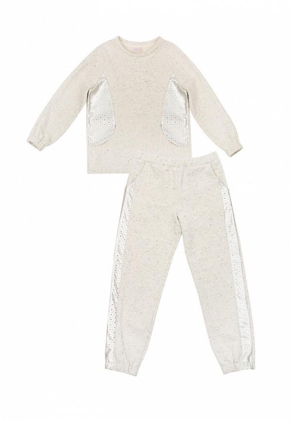 спортивный костюм bigu для девочки, серый