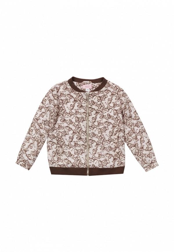 куртка bigu для девочки, бежевая
