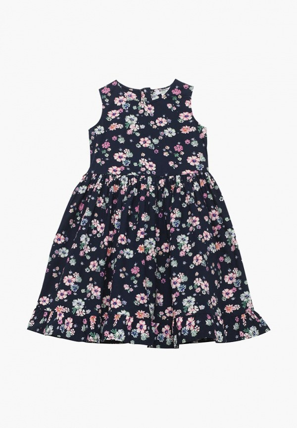 повседневные платье baon для девочки, синее