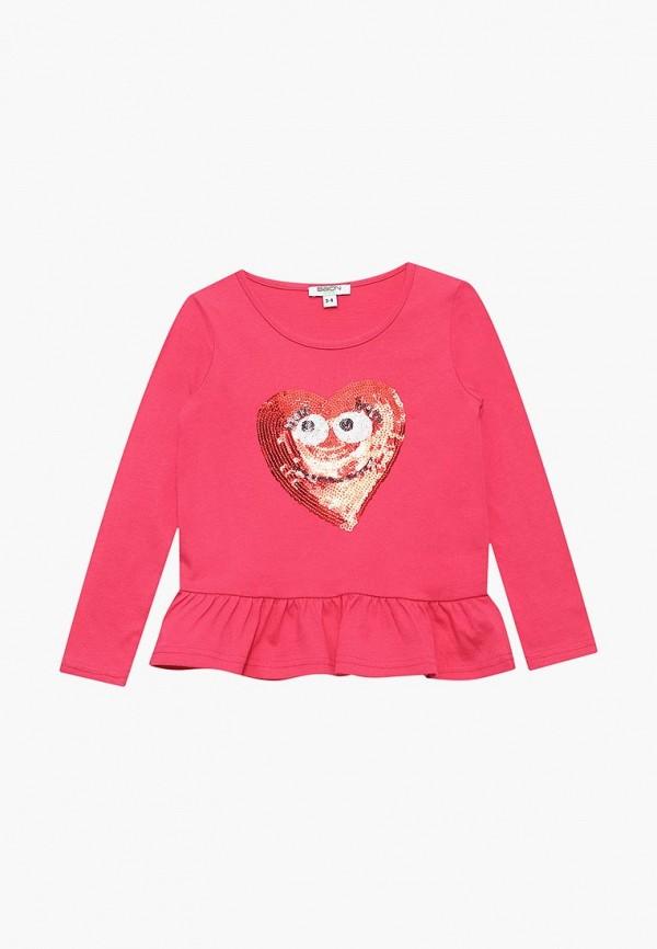 лонгслив baon для девочки, розовый