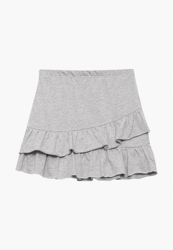 юбка baon для девочки, серая