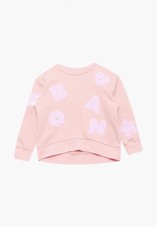 свитшот baon для девочки, розовый