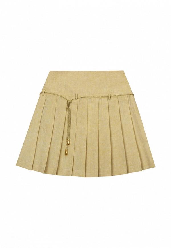 юбка bigu для девочки, желтая