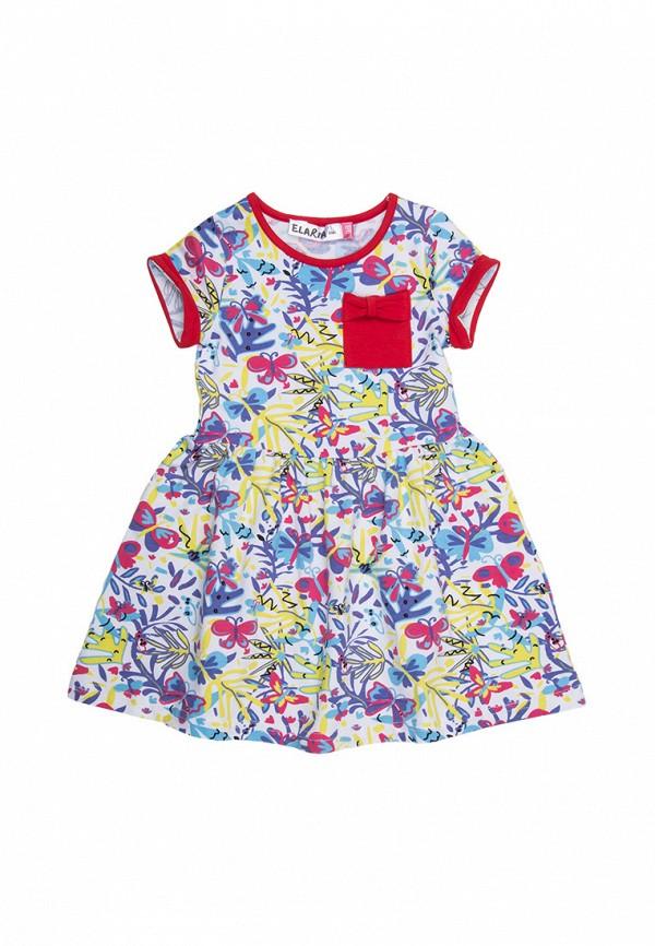 повседневные платье elaria для девочки, разноцветное
