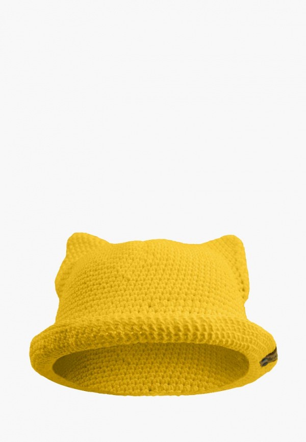 шляпа anmerino для девочки, желтая