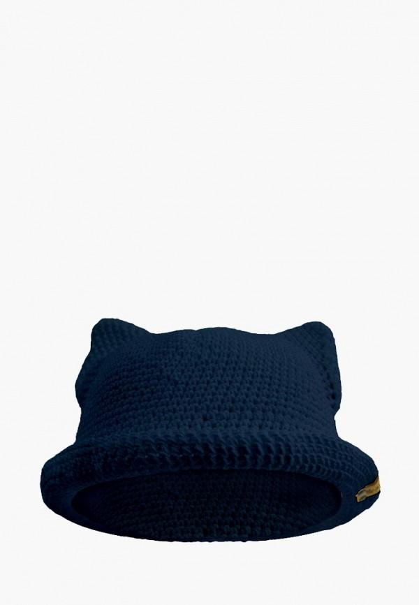шляпа anmerino для девочки, синяя