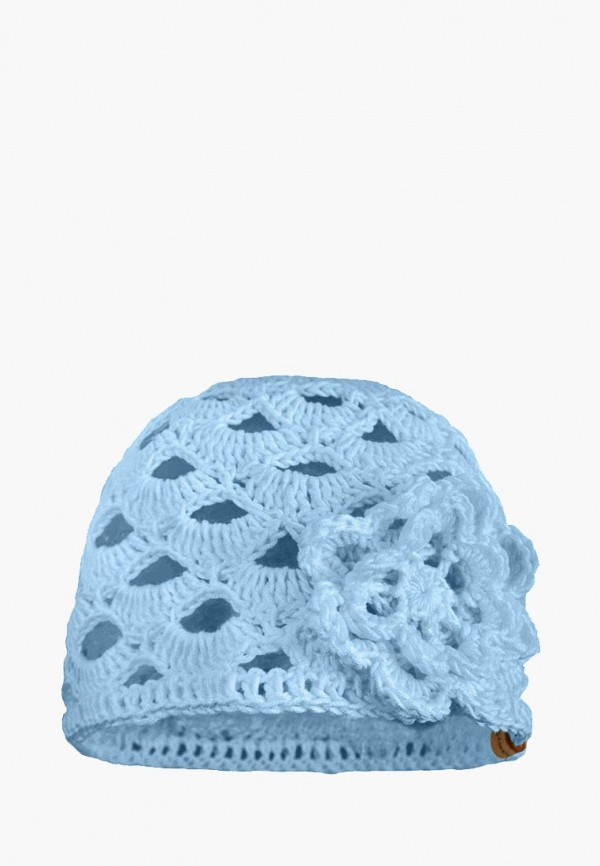 шапка anmerino для девочки, голубая