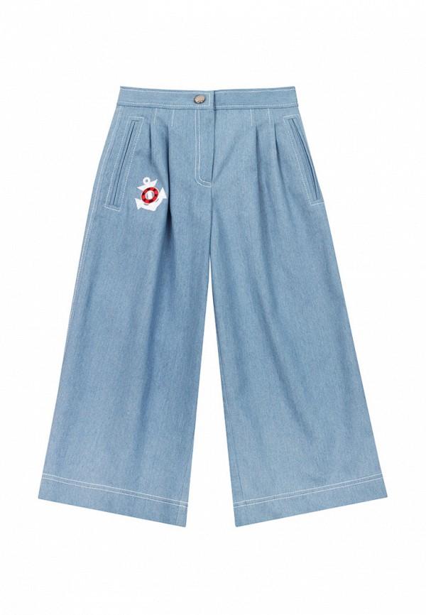 брюки bigu для девочки, голубые
