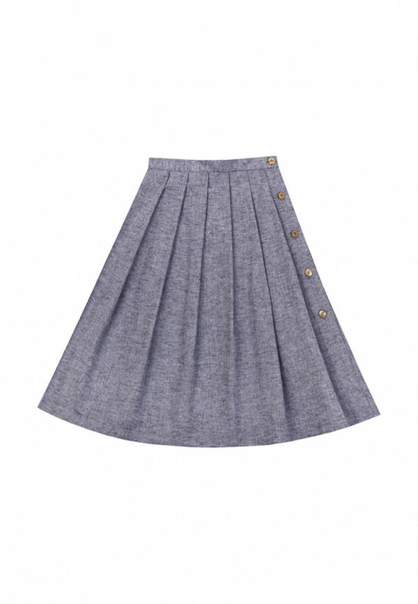 юбка bigu для девочки, синяя