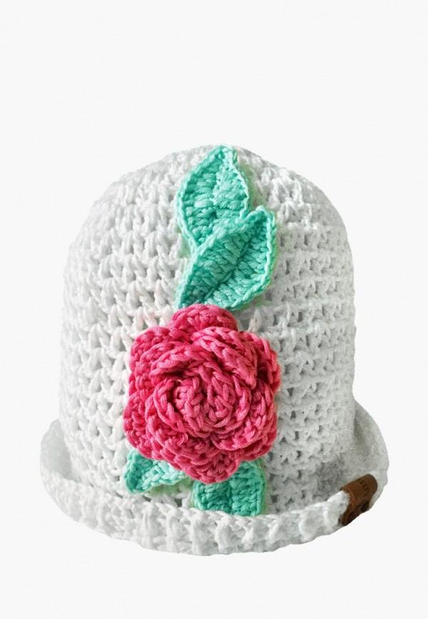 шляпа anmerino для девочки, белая