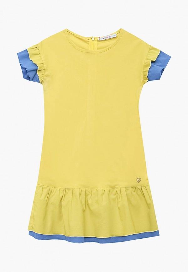 платье chadolini для девочки, желтое