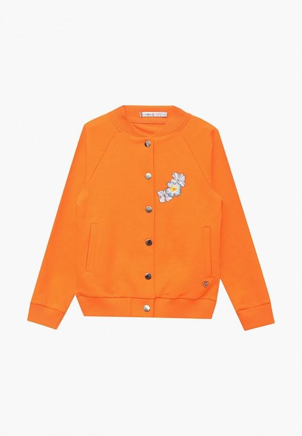 куртка chadolini для девочки, оранжевая