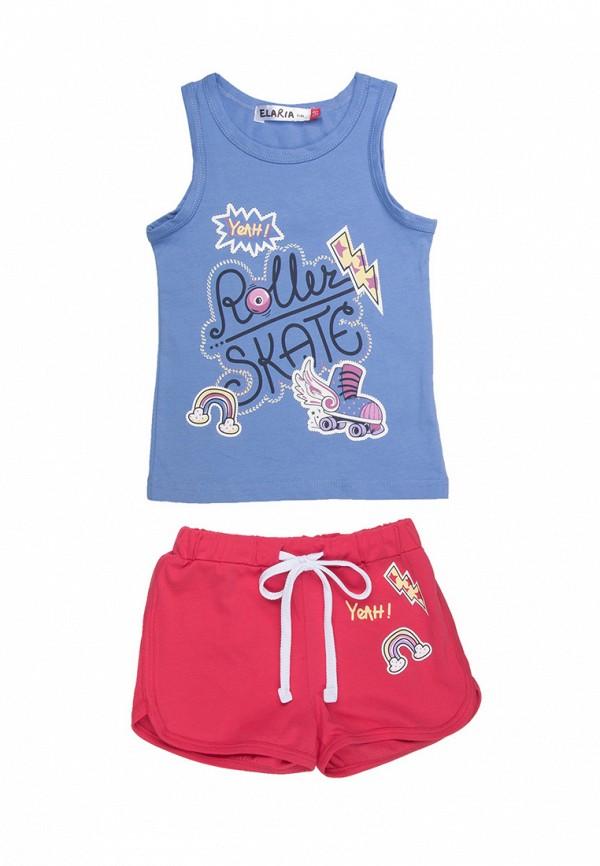 спортивные спортивный костюм elaria для девочки, разноцветный