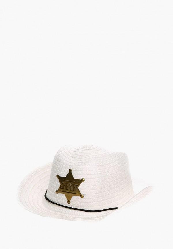 шляпа solorana для девочки, белая