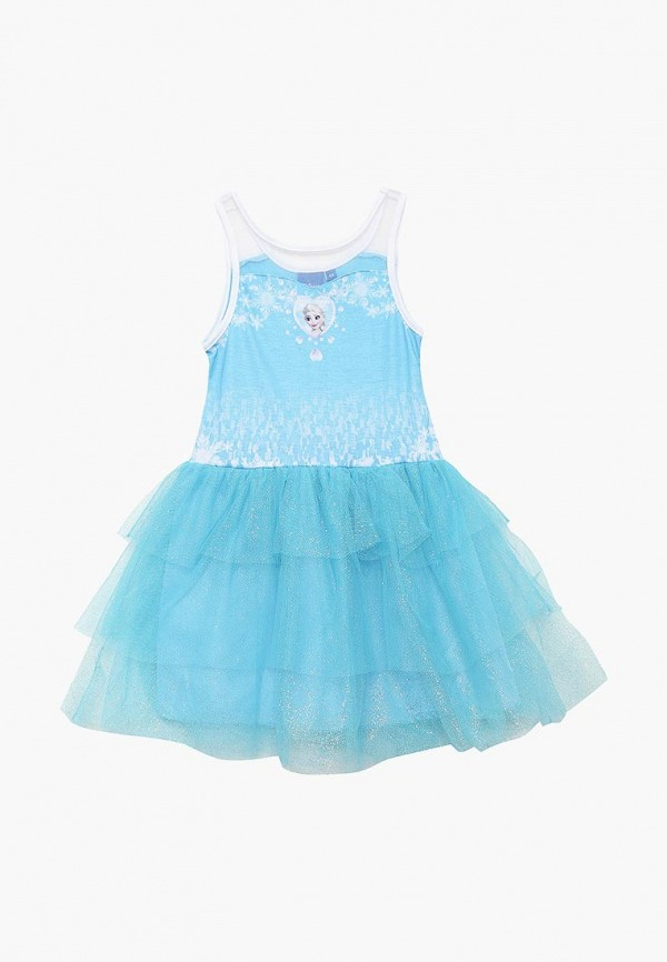 платье disney для девочки, голубое