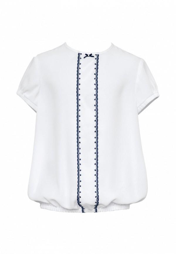 блузка sly для девочки, белая