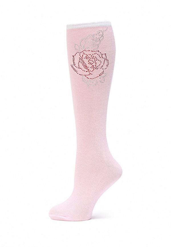 гольфы larmini для девочки, розовые