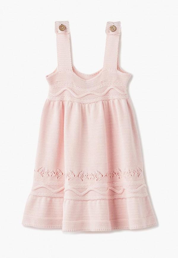 сарафан bubble's magic для девочки, розовый