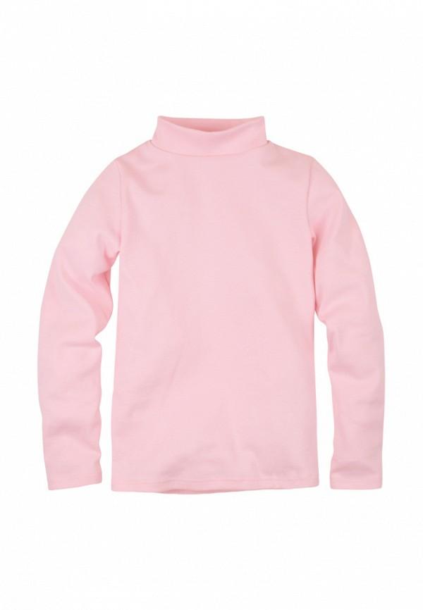 водолазка bossa nova для девочки, розовая