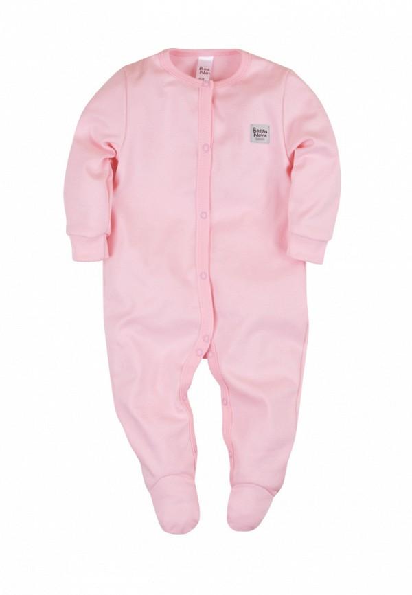 Детский комбинезон бельевой Bossa Nova цвет розовый