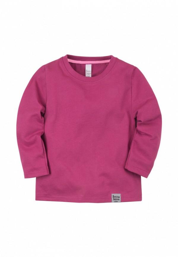 Лонгслив для девочки Bossa Nova цвет фиолетовый