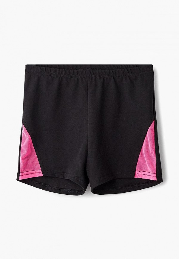 шорты черса для девочки, черные