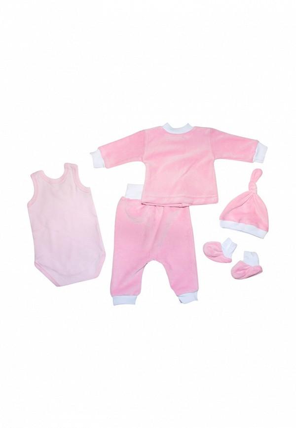 Комплект для девочки Клякса цвет розовый  Фото 2