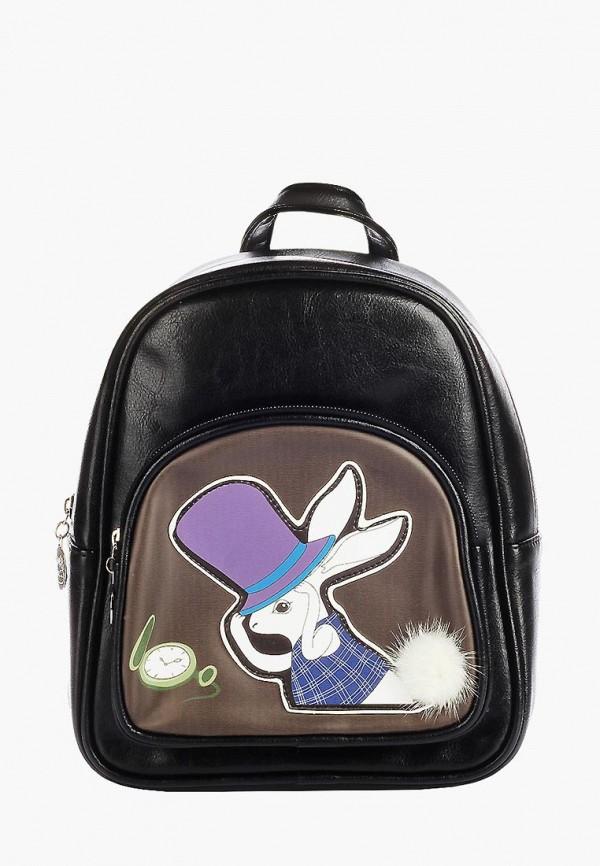 рюкзак little mania для девочки, черный