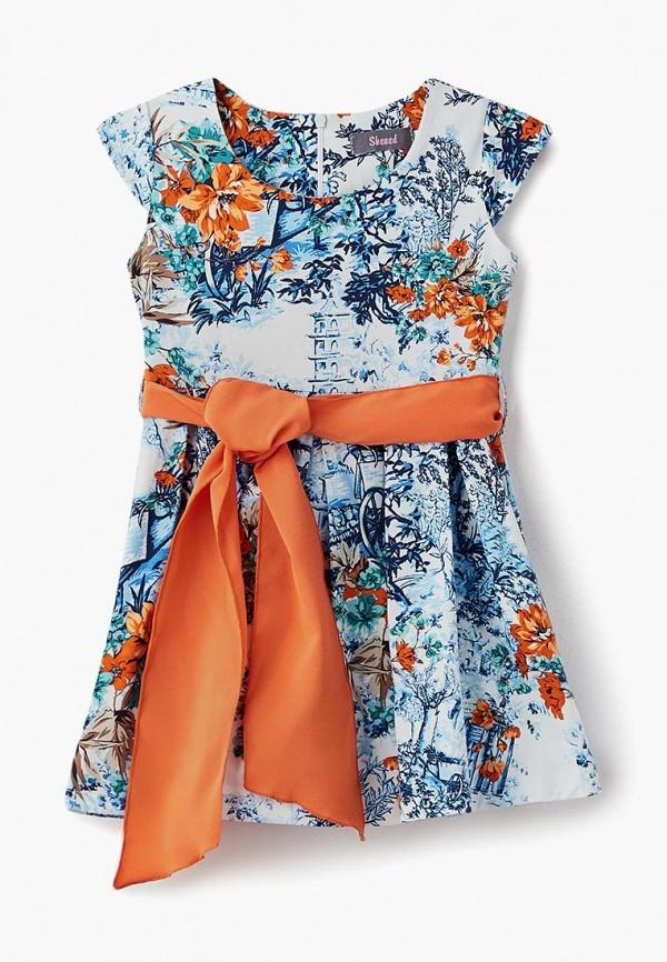 платье shened для девочки, разноцветное