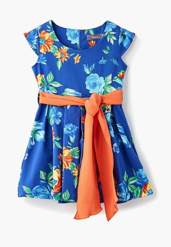 платье shened для девочки, синее